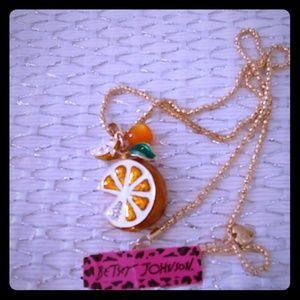 Orange is so special necklace